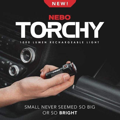 Paramedic Shop Sheldon & Hammond Torch NEBO TORCHY - Rechargeable Pocket Light