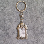 Pewter Dog Photo Key Chain