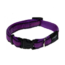 Rogz Dog Collar - Purple Chrome