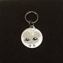 GoPet White Mouse - Cat Id Tag