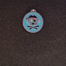 Swarovski Pirate Dog Small Id Tag