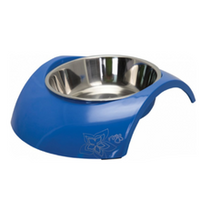 Rogz Luna Dog Bowl - Blue
