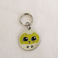 GoPet Yellow Puppy - Small Dog Id Tag