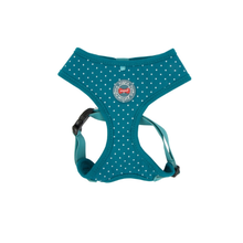 Puppia Dotty Harness II - Teal