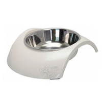 Rogz Luna Dog Bowl - Ivory