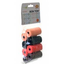 Bon Ton Refill Biodegradable Bags - Multi Pack of 8
