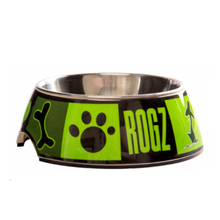 Rogz Bubble Dog Bowl - Lime Juice