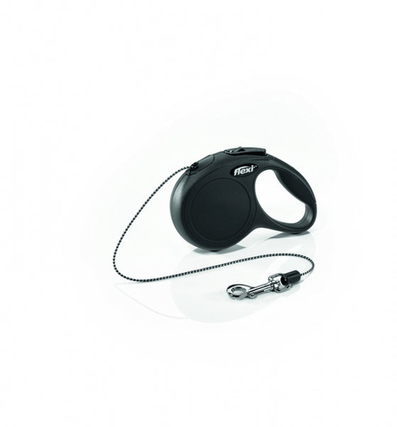 Flexi Classic Cord Retractable Lead - Various Sizes/Colours
