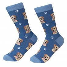 Yellow Labrador Socks