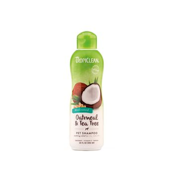 TropiClean Oatmeal & Tea Tree Pet Shampoo - 355ml