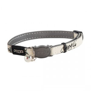 Rogz Glowcat Safeloc Collar - Jumping Cat