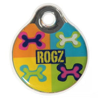 Rogz Resin PopArt - Large Dog Id Tag