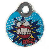 Rogz Resin Comic - Large Dog Id Tag
