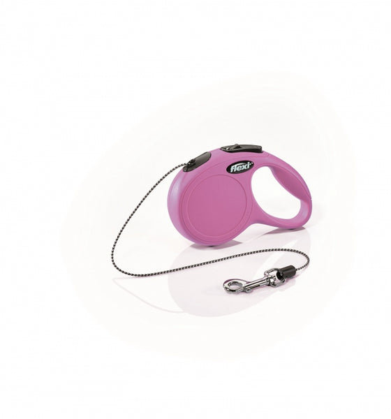 Flexi Classic Cat Cord - Retractable Lead - Pink