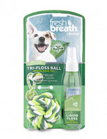 Tropiclean Fresh Tri-Floss Ball - Dental Rope Toy