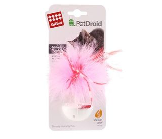GiGwi Pet Droid Wobble Feather - Melody Tumbler - Cat Toy