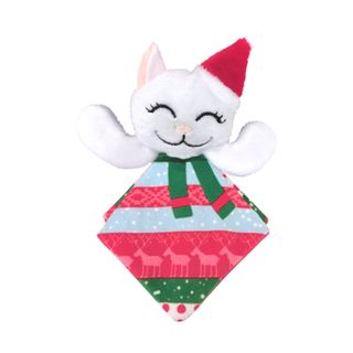 Kong Holiday Crackles Santa Kitty - Cat Toy