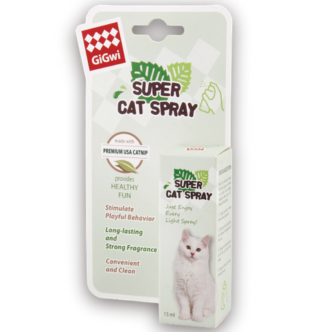 GiGwi Super Cat Spray (Catnip) - 15ml