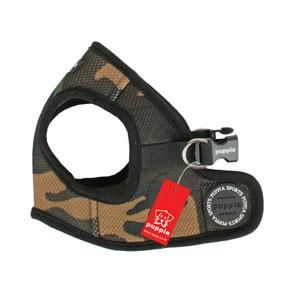 Puppia Soft Vest Harness B - Camo - Medium