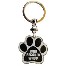 Who Rescued Who? - Key Chain