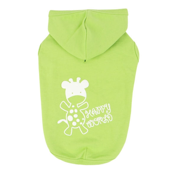Puppia Happy World T-Shirt - Lime