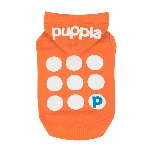 Puppia Emmy T-Shirt Hoodie - Orange