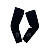 """O"" Black Retroreflective Arm Warmers"