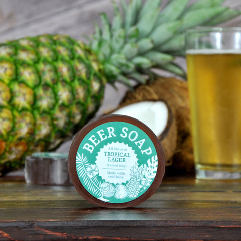Tropical Lager Beer Soap