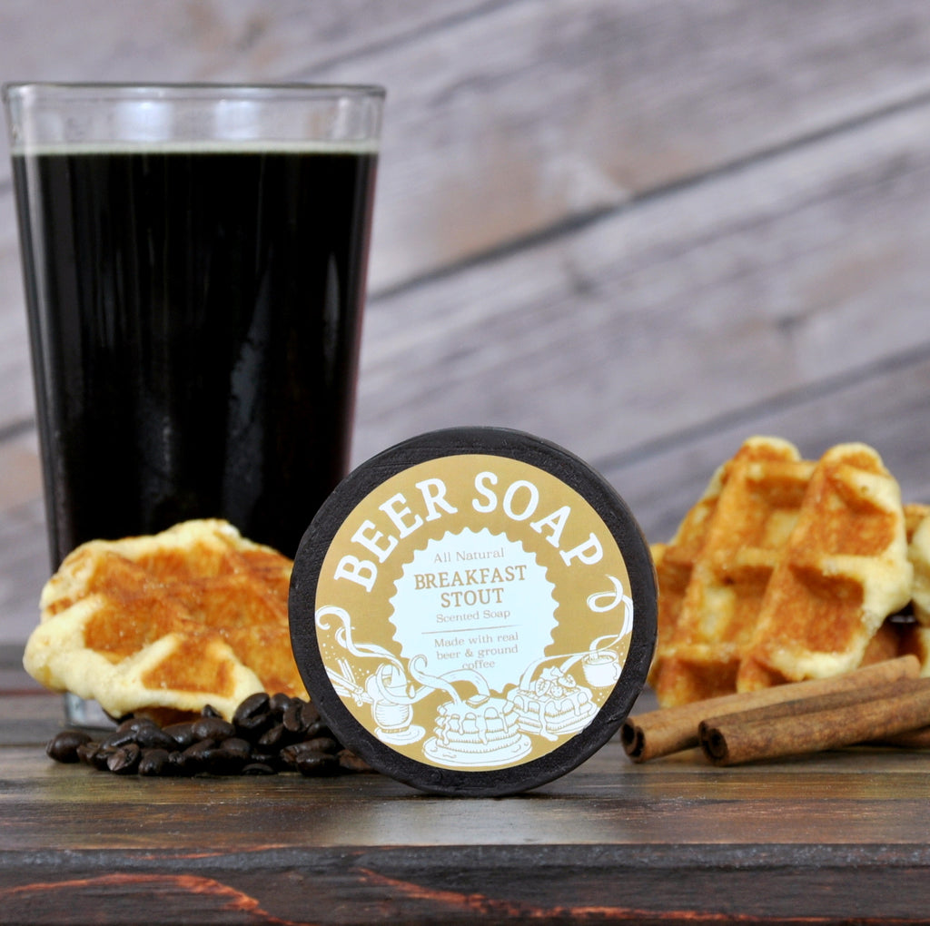 Breakfast Stout Beer Soap