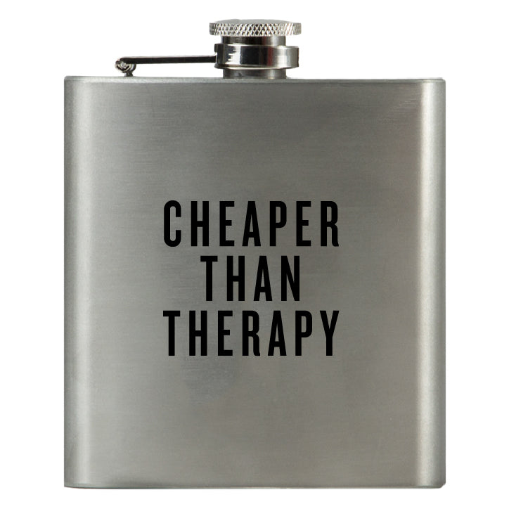 Cheaper Than Therapy - Honest Flask