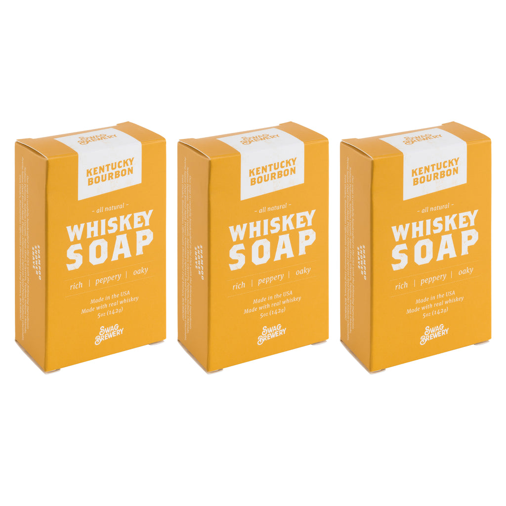 Whiskey Soap (Kentucky Bourbon) - 3-PACK