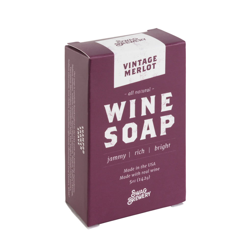 Wine Soap (Vintage Merlot) - Boxed