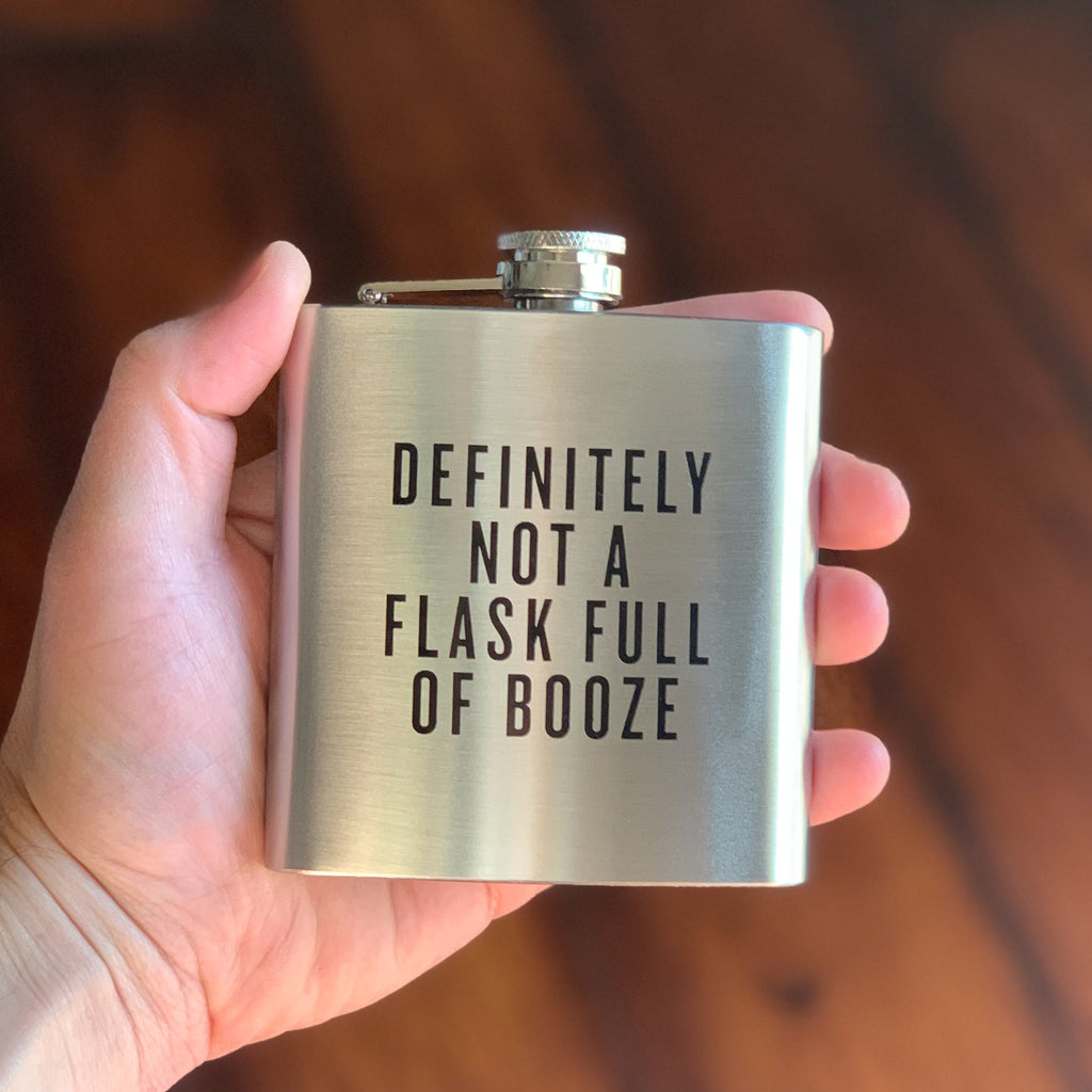 Definitely Not a Flask Full of Booze - Honest Flask