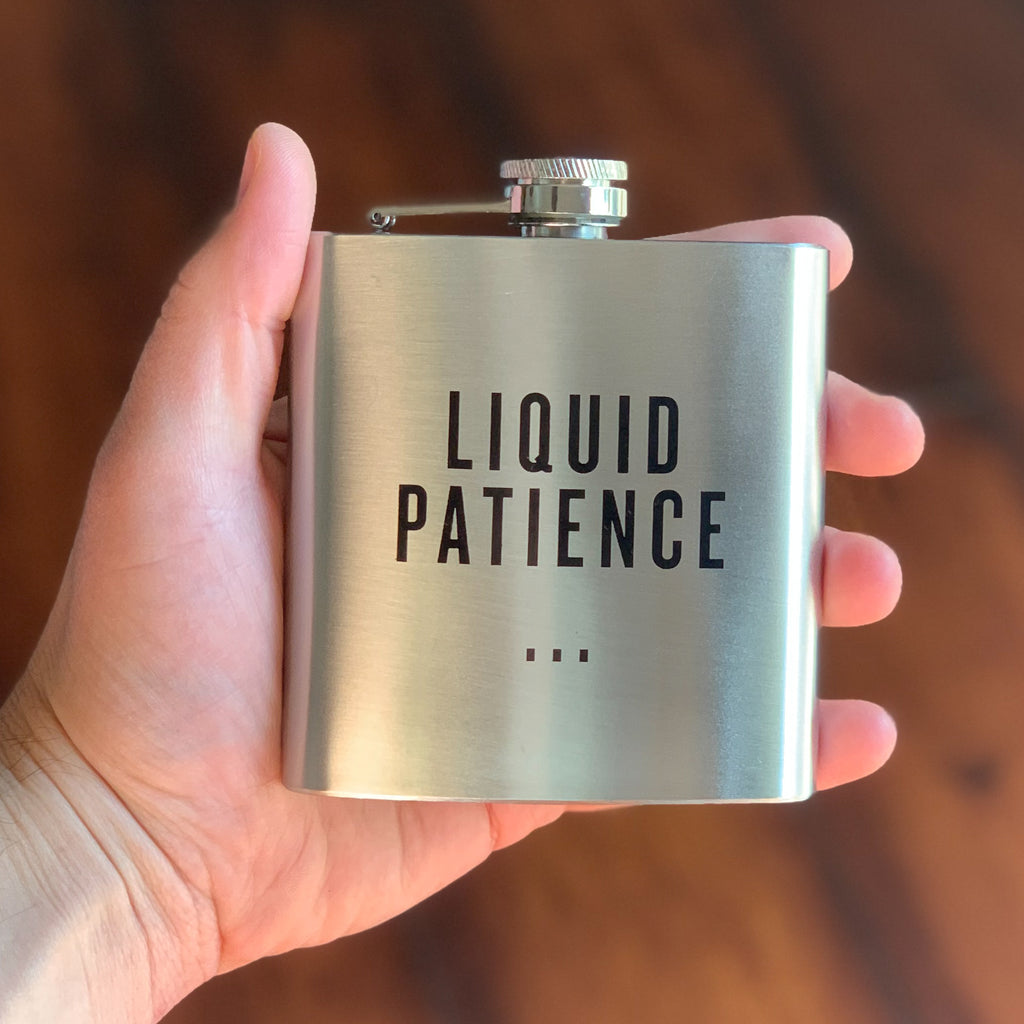 Liquid Patience - Honest Flask