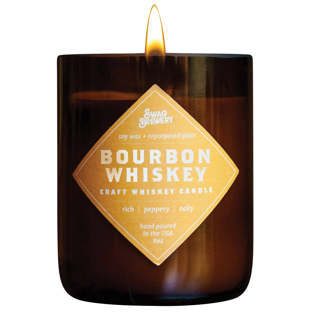 Bourbon Whiskey Candle