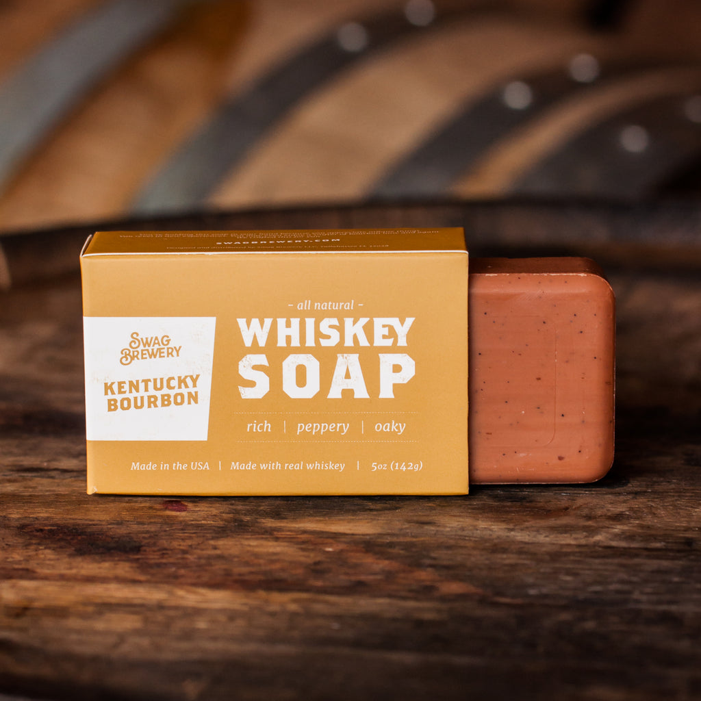 Whiskey Soap (Kentucky Bourbon) - Boxed