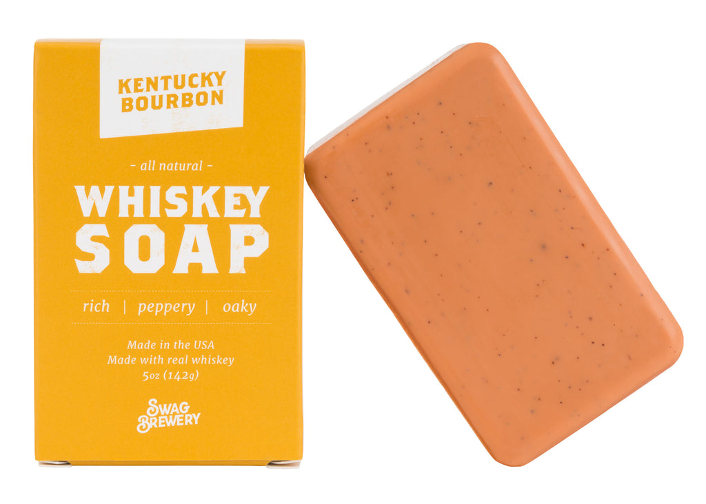 Boozy Soap 3-Pack (Wine + Whiskey + Beer)