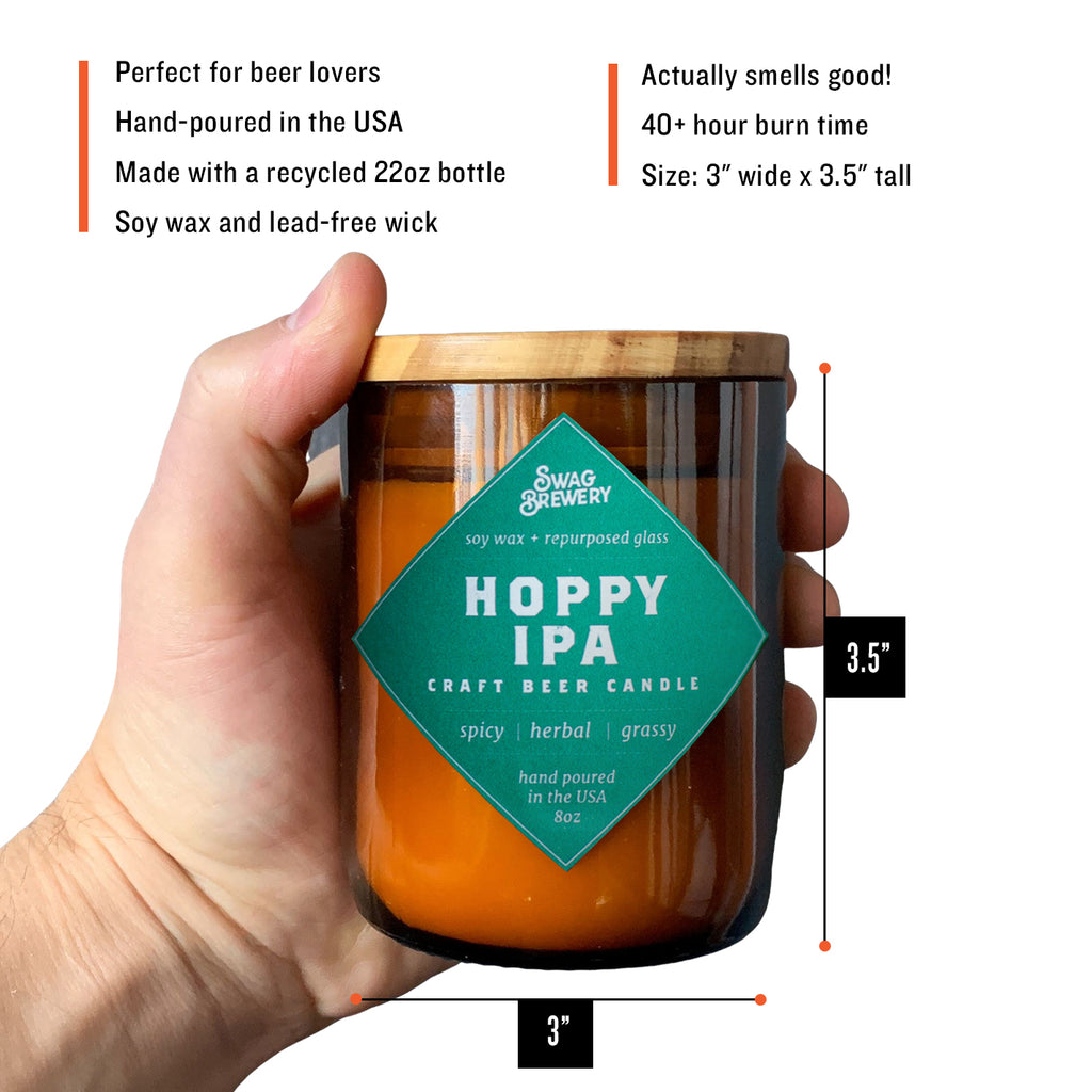 The Brew Candle 3-Pack (Hoppy IPA + Kentucky Bourbon + Vintage Merlot)