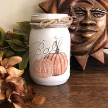 Load image into Gallery viewer, Hand Painted Pumpkins - Mason Jar