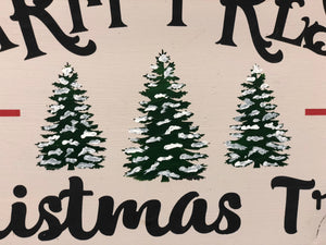Farm Fresh Christmas Trees Sign