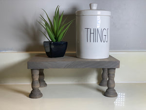 Farmhouse Decor Stand - Small Rectangle Riser