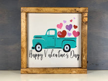 Load image into Gallery viewer, Valentine's Wood Sign - Old Truck