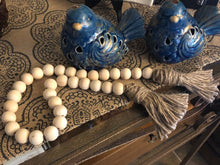 Load image into Gallery viewer, Farmhouse Wood Bead Garland - Round Beads