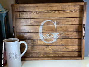 Large Guest Book Tray - Wedding Decor