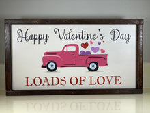 Load image into Gallery viewer, Valentine's Day Truck Sign - Personalized