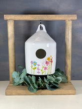 Load image into Gallery viewer, Farmhouse Birdhouse Display Stand