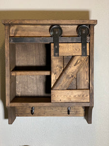 Sliding Barn Door Cabinet