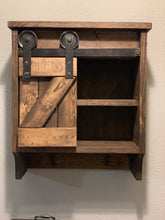 Load image into Gallery viewer, Sliding Barn Door Cabinet