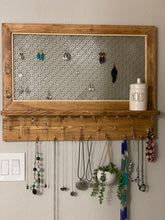 Load image into Gallery viewer, Wall Jewelry Rack
