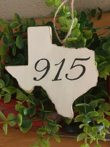 El Paso Texas Ornament  - The 915